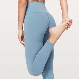 "New Lululemon Align Pant 28"" - Size 4 Slate Blue"